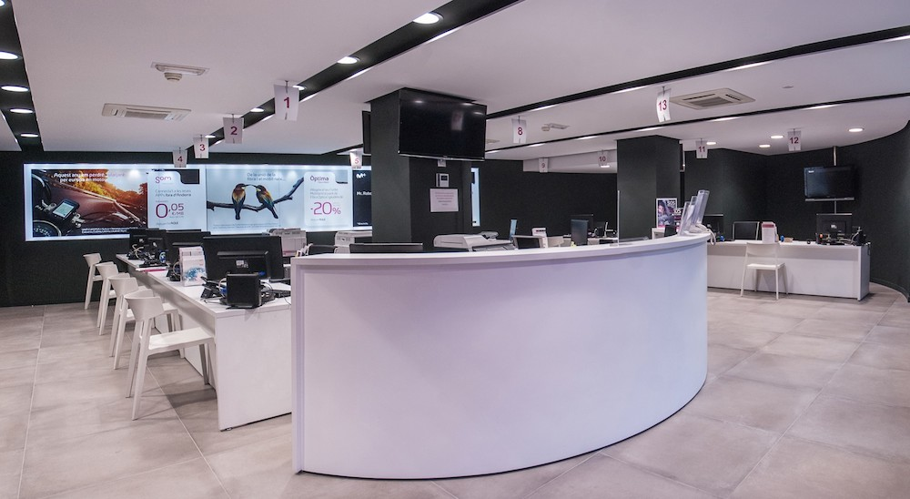 Reforma oficina Andorra Telecom